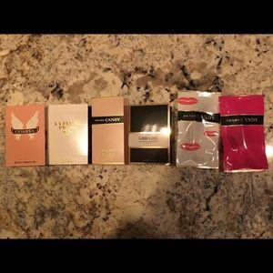 Women's Parfums sampler